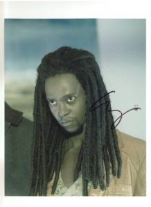 "Edi Gathige ""Laurent"" THE TWILIGHT SAGA Genuine Signed Autograph 10x8 COA 221"